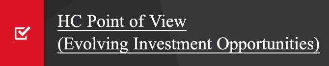 Evolving Investment Opportunities